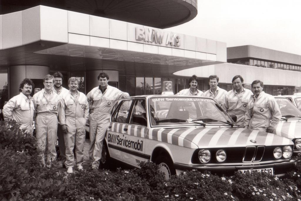 BMW Servicemobil 1984