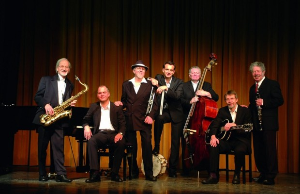 Barrelhouse Jazzband mit Harriet Lewis und The Jackson Singers im Audi-Forum