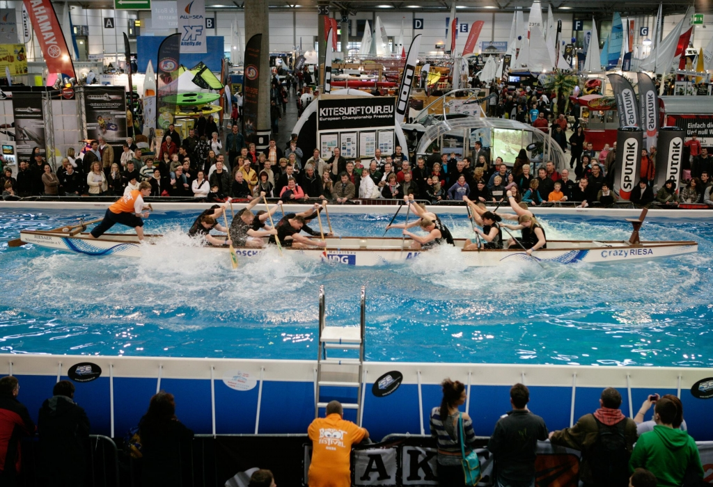 Beach & Boat 2012: Stand-Up-Paddeling Finale zur Wassersportmesse
