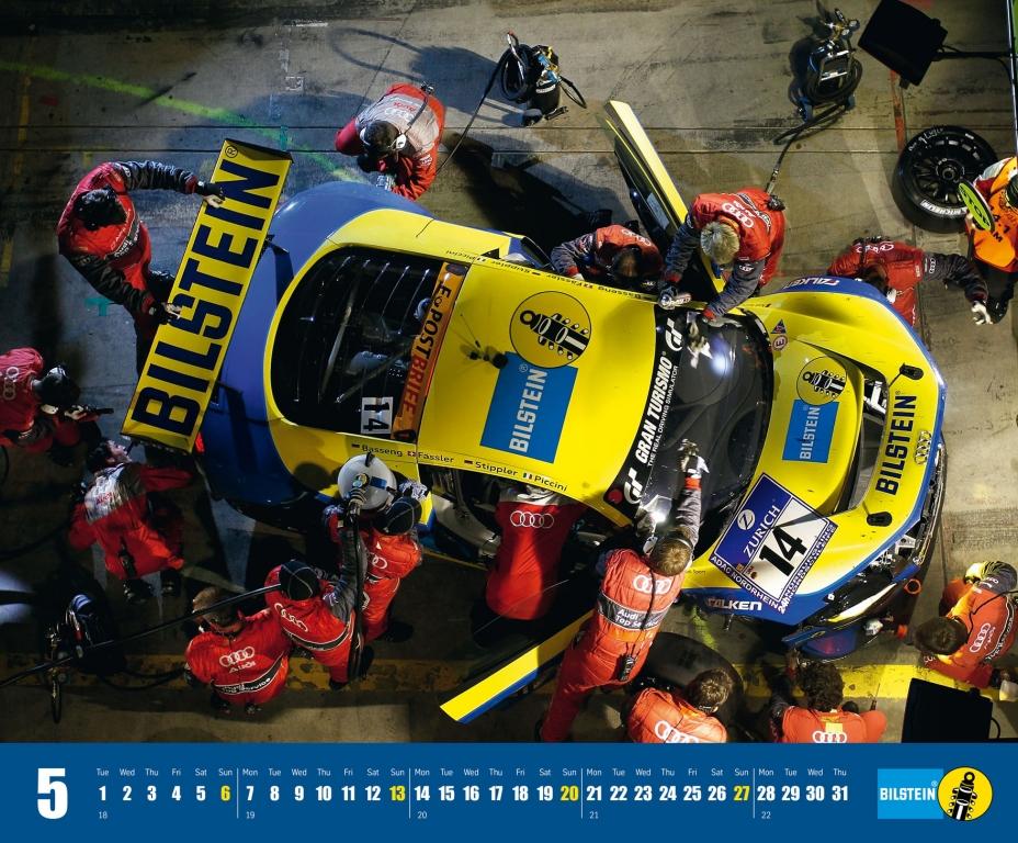 Bilstein gibt Motorsportkalender heraus