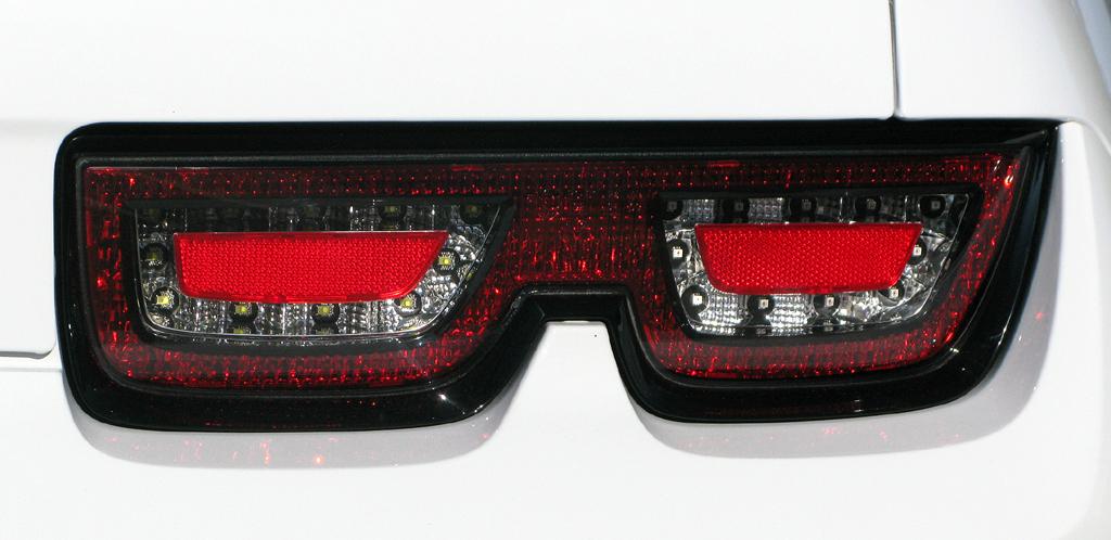 Chevrolet Camaro: Leuchteinheit hinten auf der Beifahrerseite.