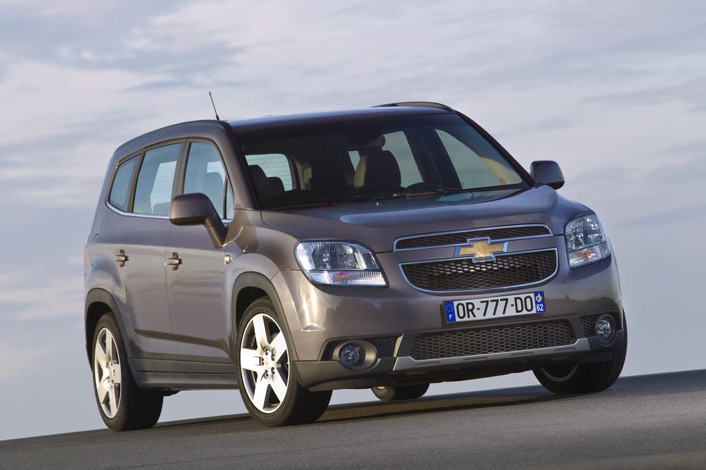 Chevrolet Orlando mit geringstem Wertverlust in der Kompaktvanklasse