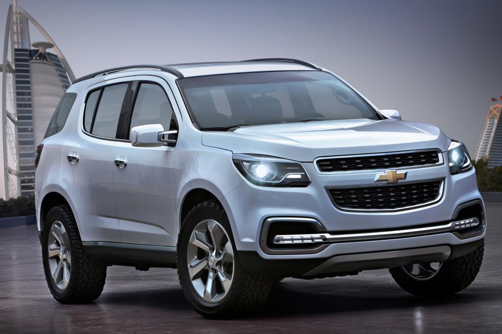 Chevrolet TrailBlazer - Für die Wüste