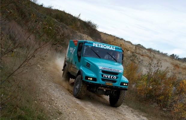 Dakar 2012: Fünf Iveco gegen Kamaz