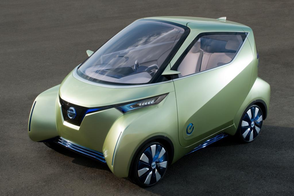 Das E-Auto bietet auf drei Metern Platz für drei Insassen