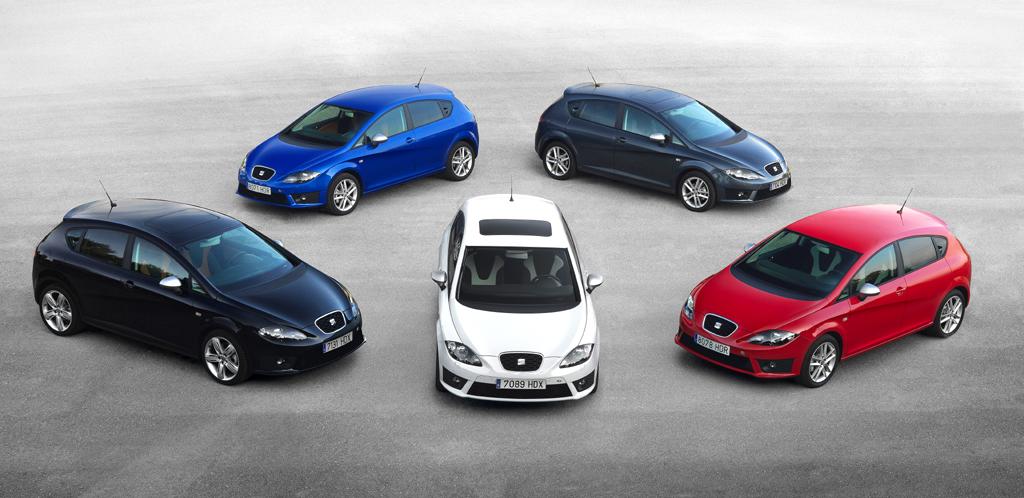 Den Seat León FR gibt es jetzt in fünf Motorisierungen. Foto: Seat