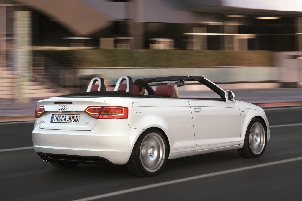 Der Audi A3 tritt seit neuestem auch gegen das VW Golf Cabrio an