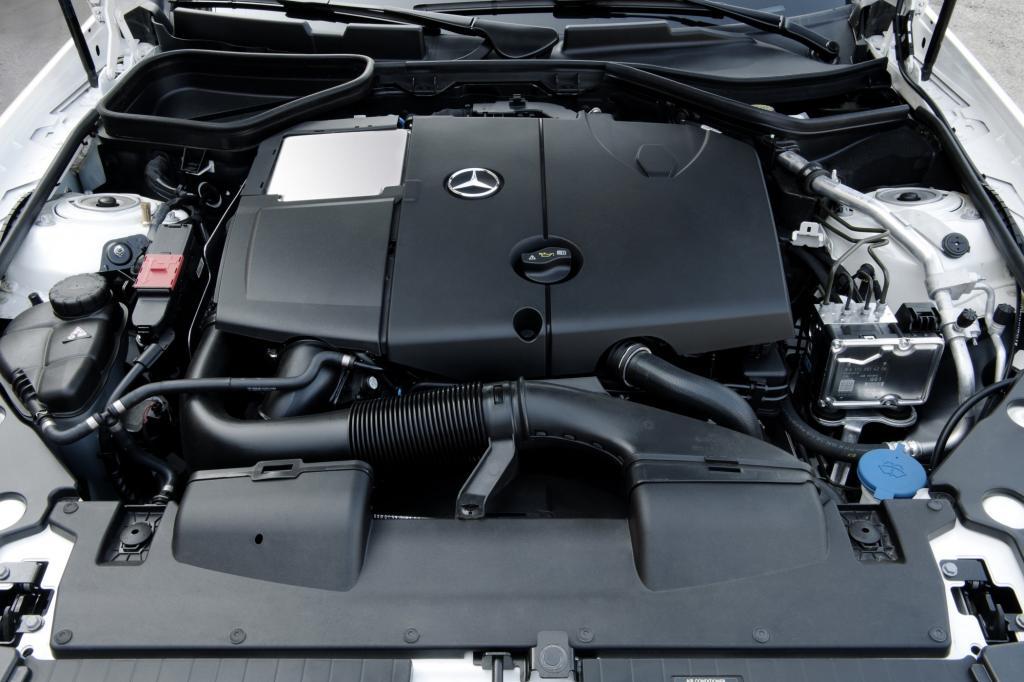 Der Diesel im SLK kommt auf 204 PS
