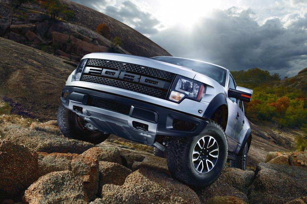 Der Ford Raptor ist vom F150 abgeleitet