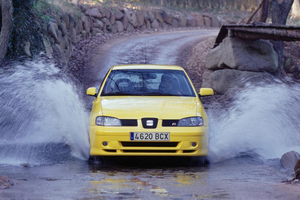 Der Ibiza Cupra R ging 2001 sportlich zur Sache