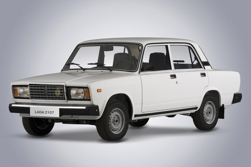 Der Lada 2107 wurde auch lange nach dem Zusammenbruch der Sowjetunion weitergebaut