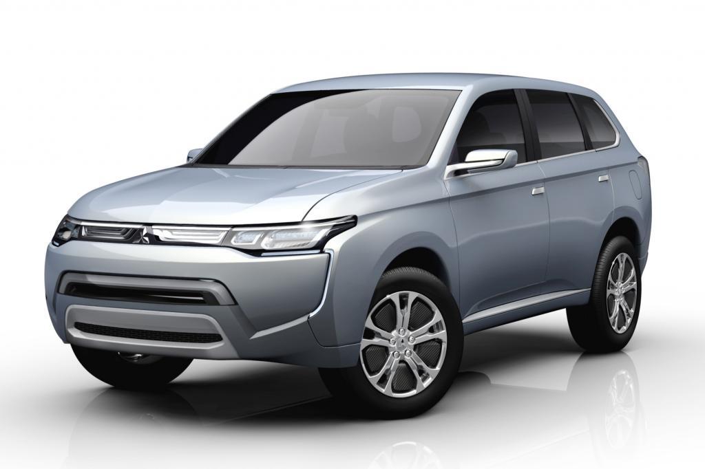 Der Mitsubishi PX fährt mit Hybridantrieb