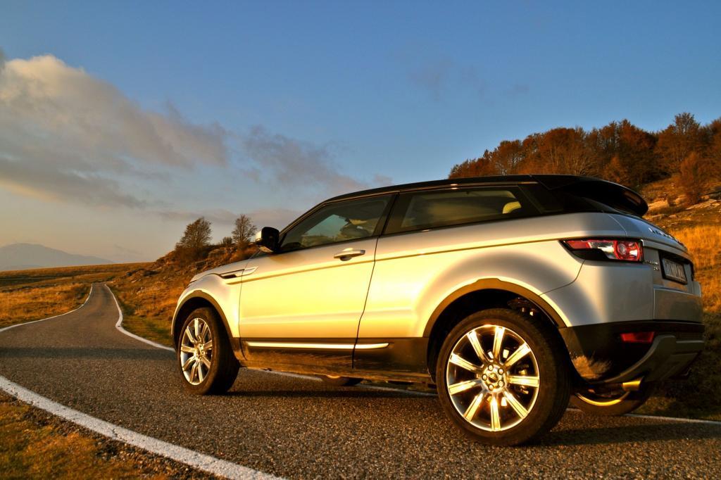 Der Range Rover Evoque ist nich nur ein Schönling