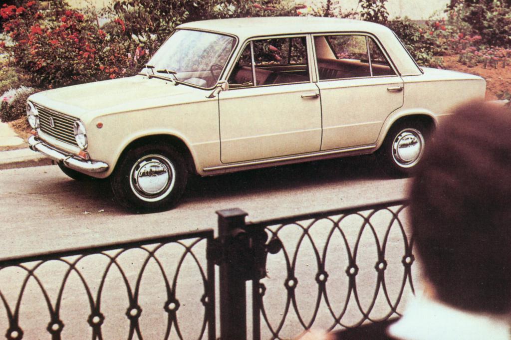 Der Rost hat den Fiat 124 heute selten gemacht