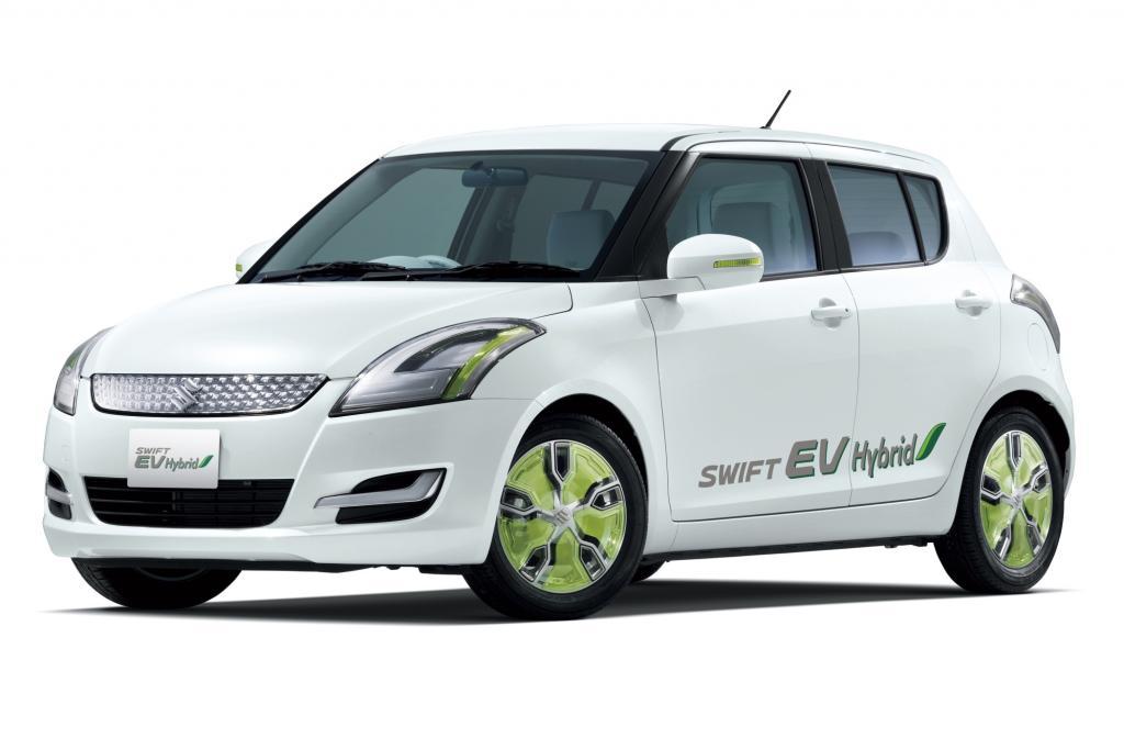 Der Suzuki Swift erhält einen E-Antrieb mit Range-Extender