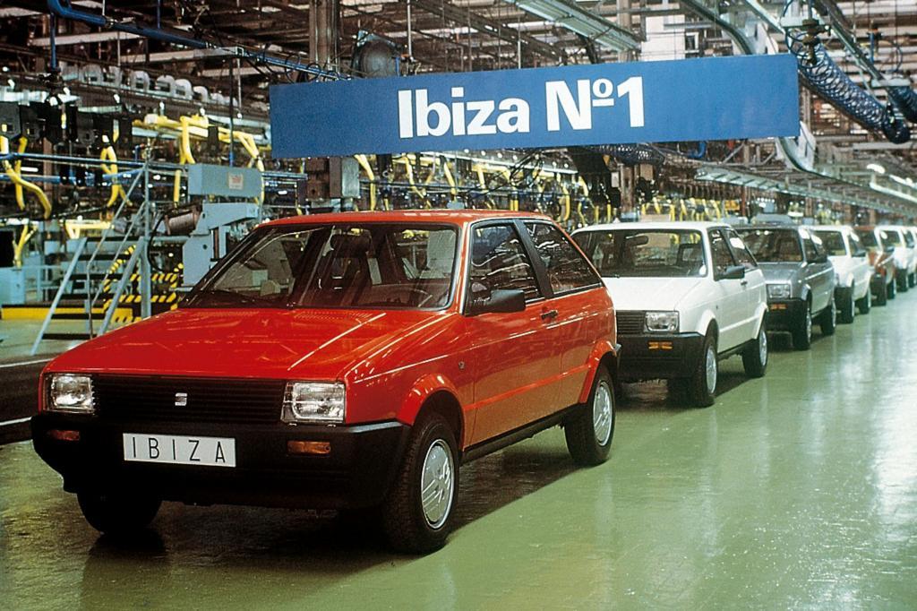Der erste Ibiza wurde mit VW-Hilfe entwickelt