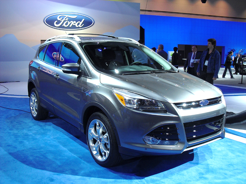 Der neue Ford Escape, in Europa Kuga.