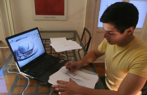 Design-Student überzeugt mit Entwurf für Peugeot RCZ