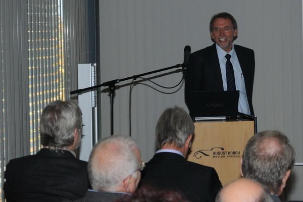 Dietmar Otte - Dieselringträger 2010: Verkehrssicherheit braucht exakte Daten