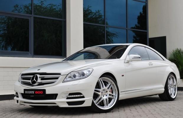Dubai 2011: Brabus 800 Coupe - Wüsten-Geschoss