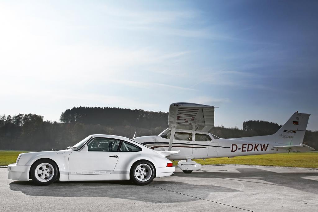 Durch viele Karbonteile wird der Porsche deutlich leichter