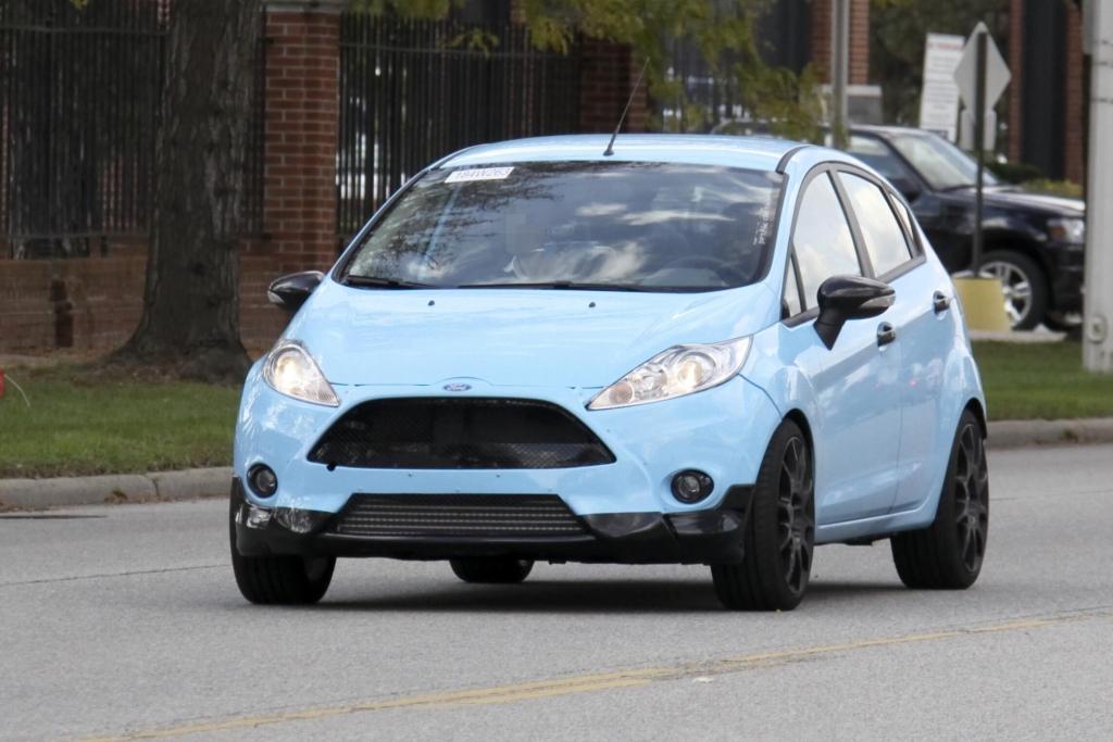 Erwischt: Erlkönig Ford Fiesta ST – GT und OPC fest im Blick