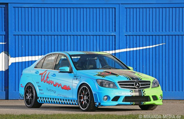 Essen 2011: Wimmer tunt C63 AMG