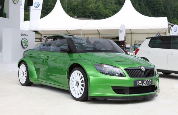 Essen 2011: Škoda bringt Rallyefahrer und Designstudie mit