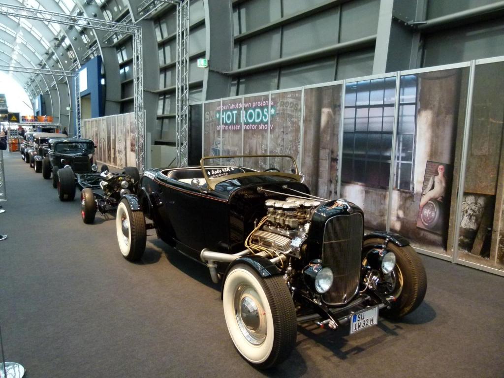 Essen Motor Show 2011: Hot Rodding - Lifestyle, Rock 'n' Roll und Power satt