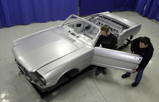 Ford hilft bei der Wiedergeburt des Mustang von 1965