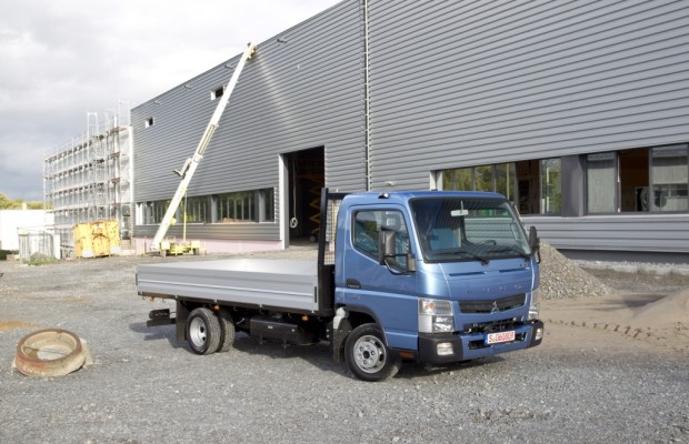 Fuso Canter mit Doppelkupplungsgetriebe Duonic