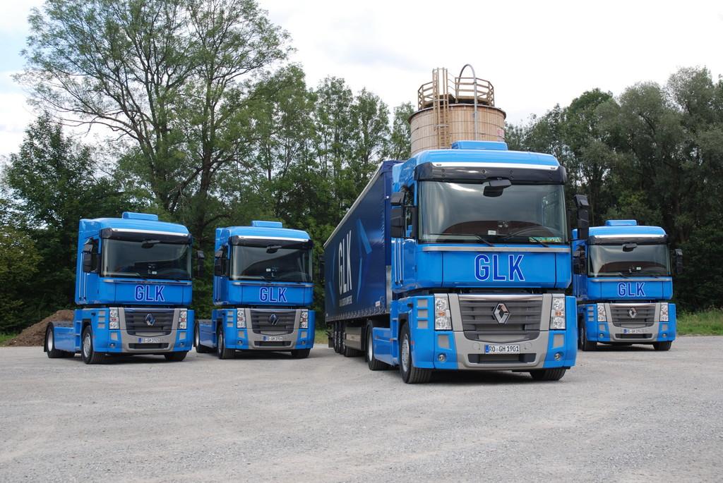 Gaida Logistik hat zehn Renault Magnum übernommen.