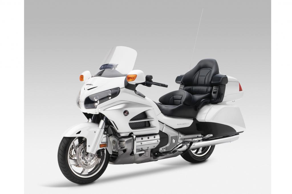 Ganz selten: Motorrad mit Airbag - die Honda Goldwing