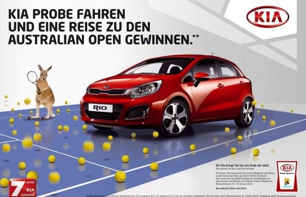 Gewinnspiel: Mit Kia zu den Australian Open 2012