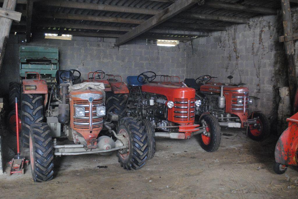 Hürlimann- und Porsche Traktoren: Landmaschinen und der