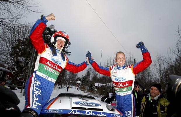 Hirvonen und Lehtinen fahren 2012 für Citroën