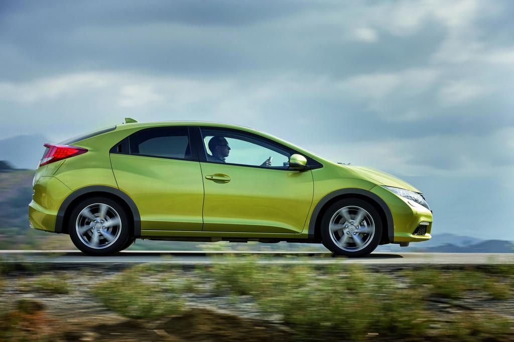 Honda Civic mit anspruchsvoller Sicherheitstechnik