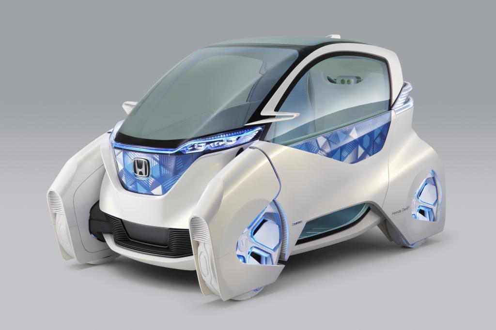 Hondas E-Kleinwagen erinnert an die Rettungskapsel eines Raumschiffs