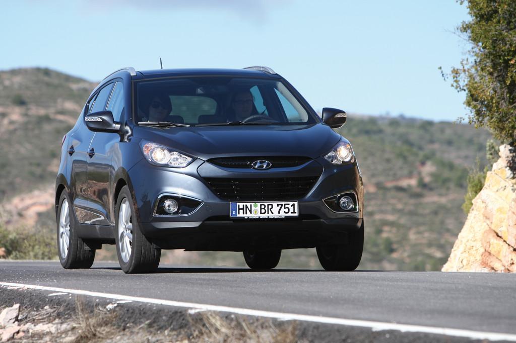 Hyundai ix35 gewinnt Kostenvergleich