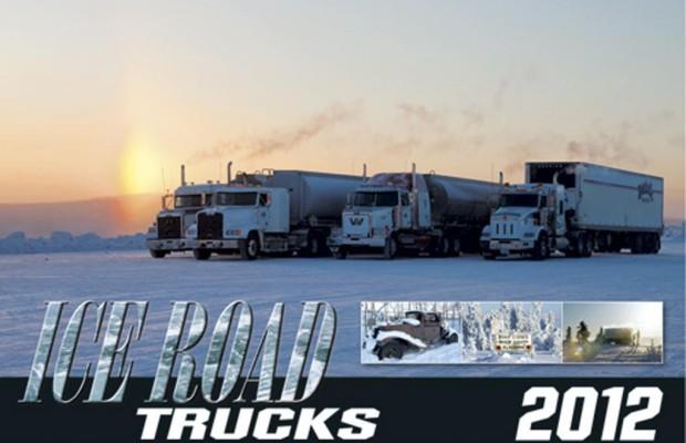 Ice-Road-Kalender 2012: Harten Männern auf der Spur