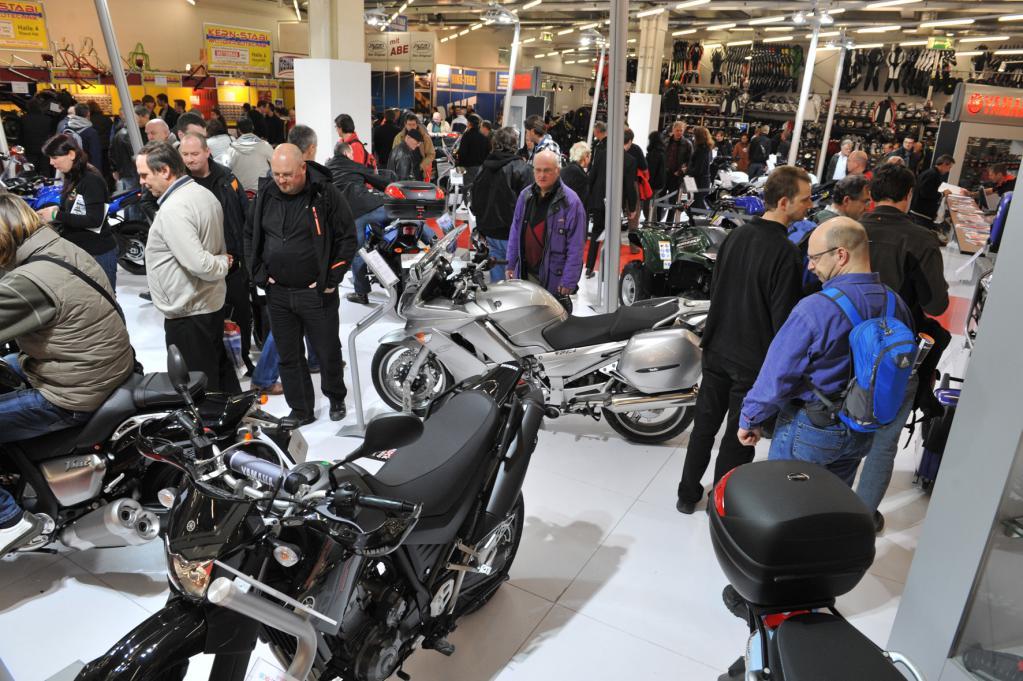 International Motorrad-Ausstellung im Februar 2012