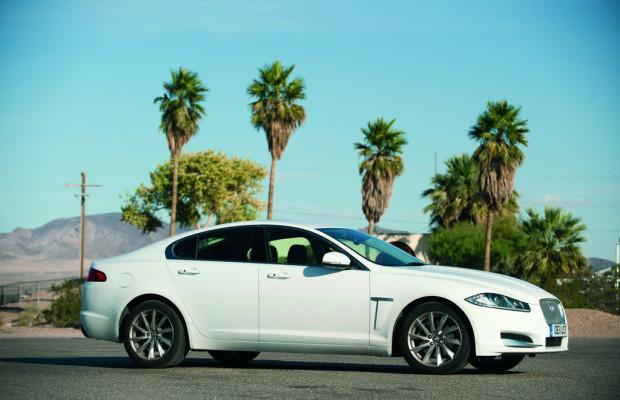 Jaguar XF durchquert USA mit knapp 4,5 Litern Durchschnittsverbrauch