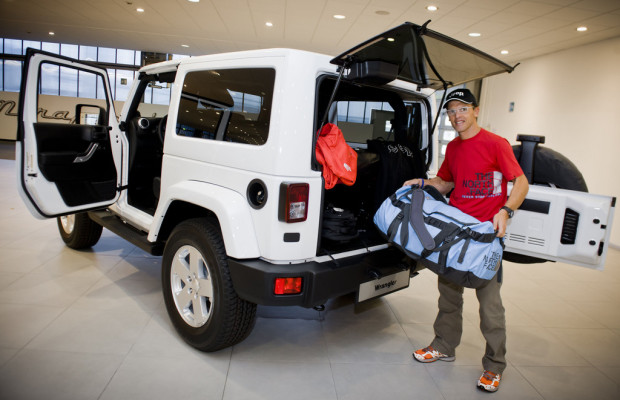 Jeep kooperiert mit The North Face