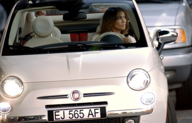 Jennifer Lopez fährt Fiat 500