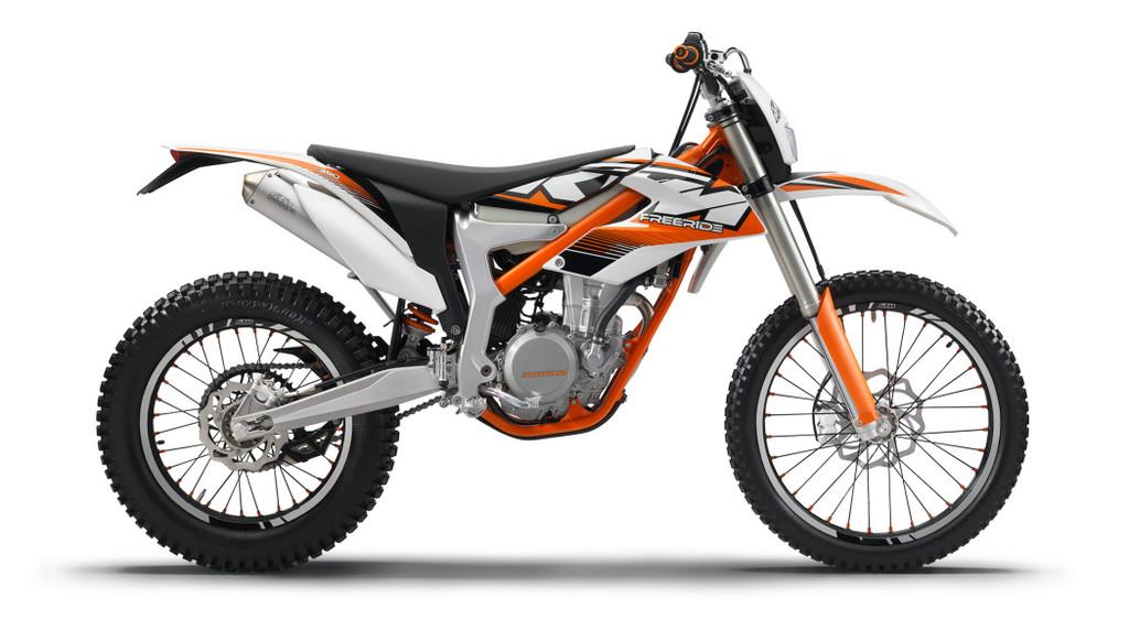 KTM Freeride 350.