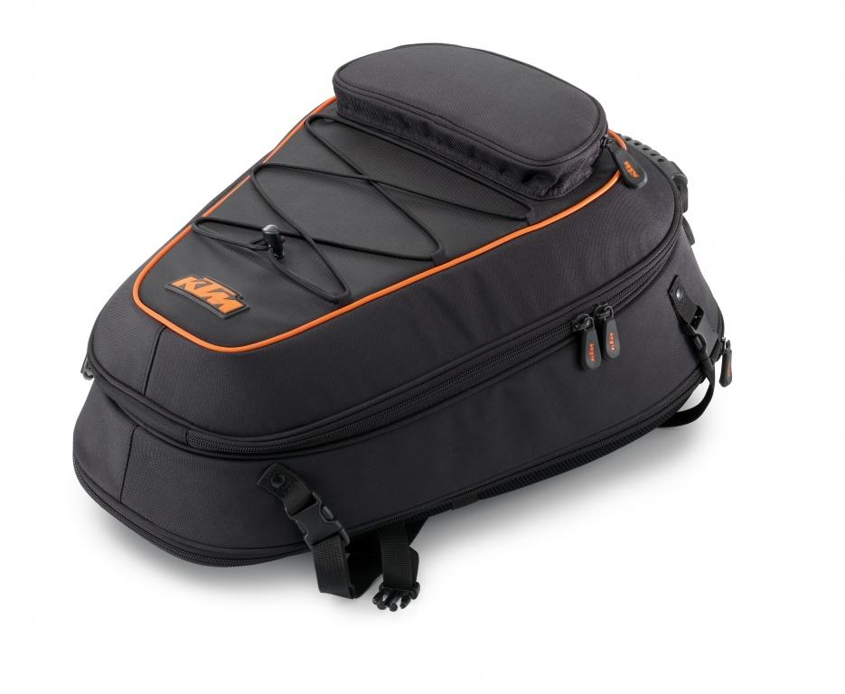 KTM: Hecktasche mit Rucksack-Funktion