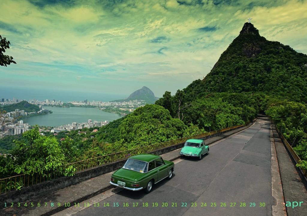 Kalenderblatt: In den 50er und 60er Jahren wurden in Brasilien in Lizenz DKW gebaut, wie der DKW Fissore (links) und der DKW Belcar.