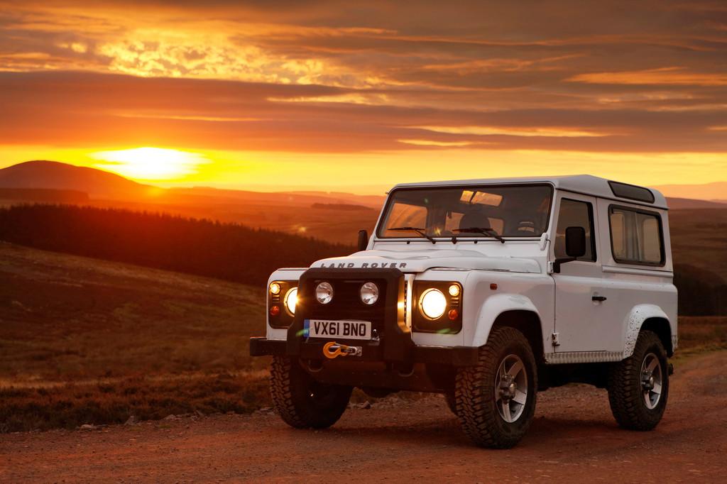 Land Rover Defender, 2012: Warten auf den Marlboro-Man.