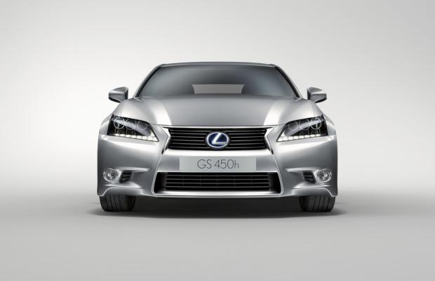 Lexus GS 450h hat die geringsten CO2-Emissionen seiner Klasse