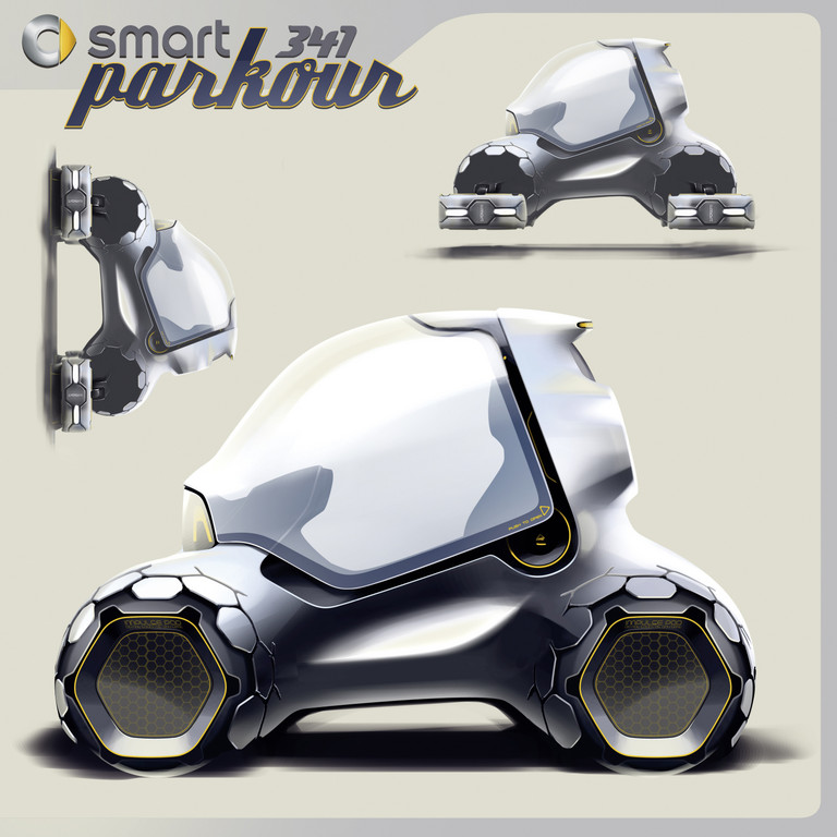 Los Angeles Design Challenge 2011: Smart 341 Parkour.